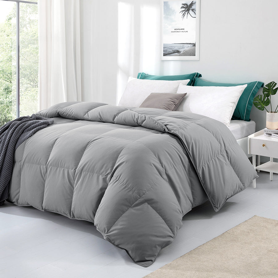 All Seasons Down Comforter Ultra Soft Comforter with Soft Peach Skin Fabric