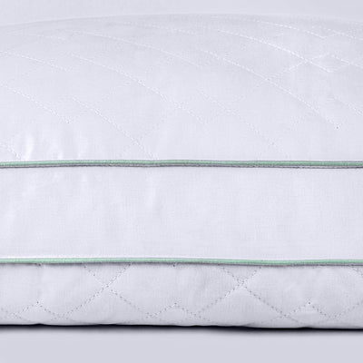 Puredown Gusset Pillows White Feather Pillows for Side and Back sleepers