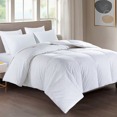 All Seasons UltraFeather Comforter 100% Cotton Cover