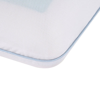 PUREDOWN - Memory Foam Cooling Gel Pillow, Reversible, Removable Cover - Puredown