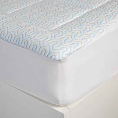 Cooling Performance Mattress Pad for Summer, Ice Silk Fabric