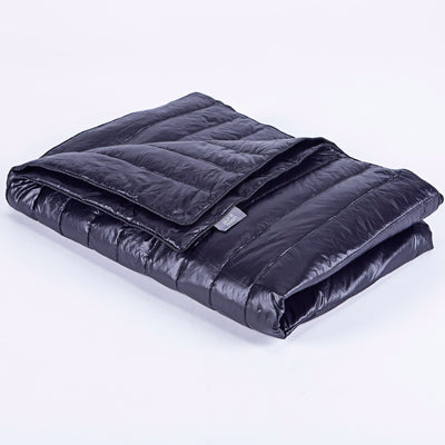 PUREDOWN 75% White Goose Down Waterproof Indoor/Outdoor Blanket