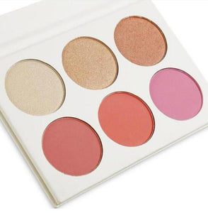 Blush highlight palette