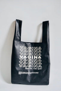 Vagina Tote (Vegan Leather)