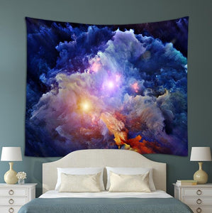 Abstract Galaxy Tapestry