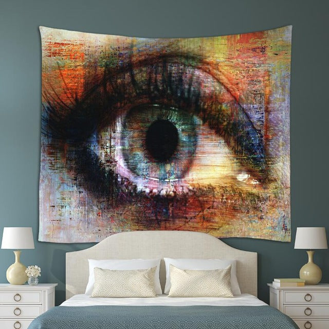 Close Eye Tapestry