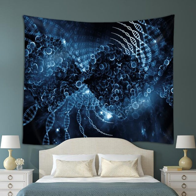 Double Helix Tapestry