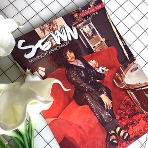 YETUNDE featured in SEWN Magazine