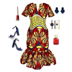 What to Wear: Valentine's Day African Inspired Outfit