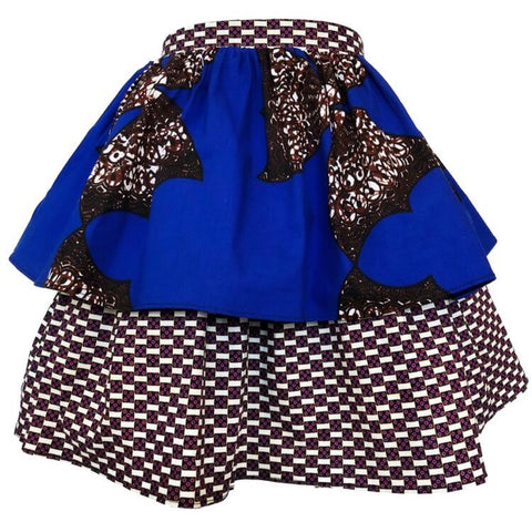 Bella African Print Skirt - Multi (Girls)