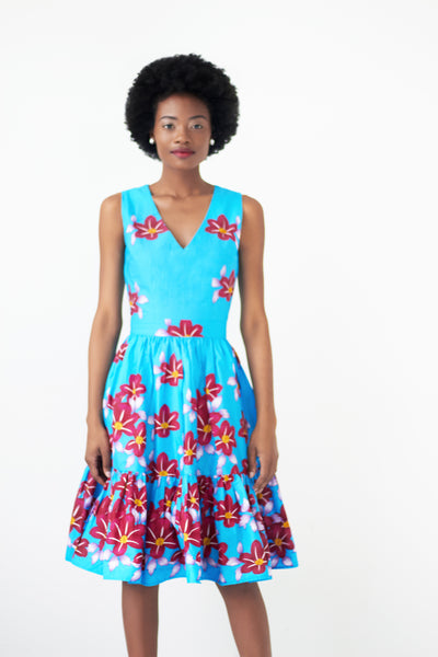 floral print dresses knee length
