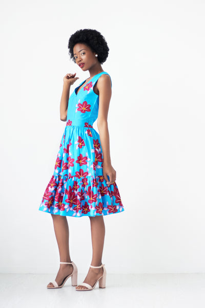 floral print dresses for weddings