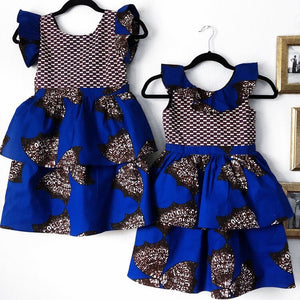 Temi African Print Dress (Girls)