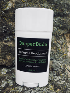 Dapper Dude Men's All-Natural Deodorant