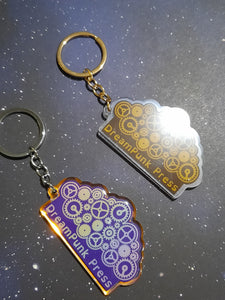 DreamPunk Press logo keychain