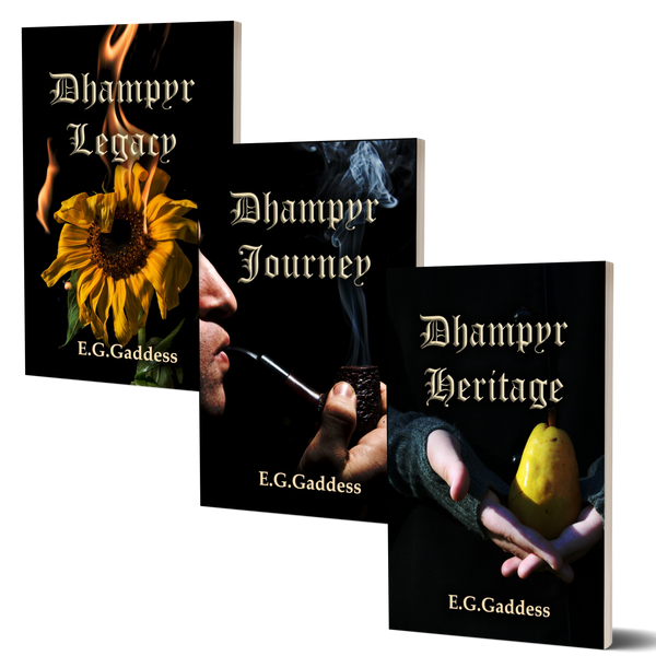 The Dhampyr Trilogy (Set of all 3 Books)
