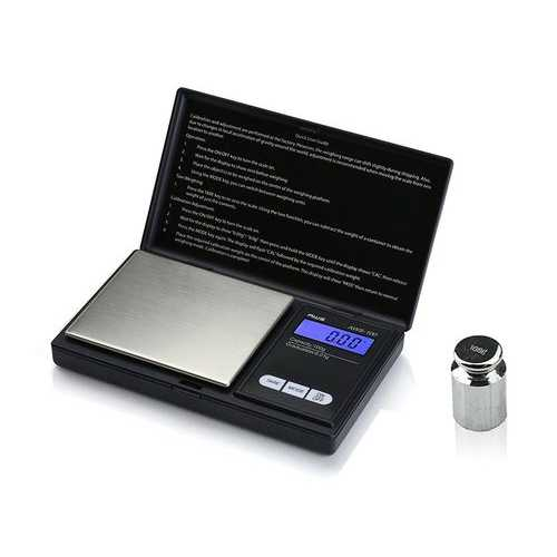 American Weigh Scales AWS-100-CAL Digital Kitchen Pocket Scale Small Black