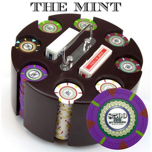200Ct Custom Claysmith Gaming 'The Mint' in Carousel