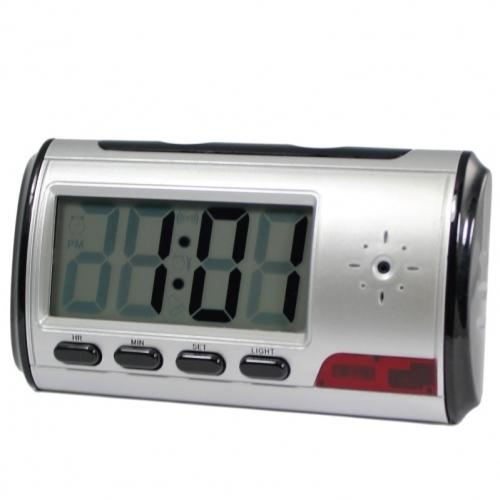 Digital Alarm Clock DVR with motion detector