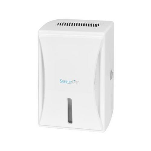 Compact Electronic Dehumidifier, Digital Mini Moisture Control