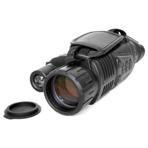 Handheld Night Vision Camera, Night Vision Viewing up to 700 Feet Away, Record Video, Snap Images, LCD Display for Picture Preview and Instant Playback, Built-in Rechargeable Battery