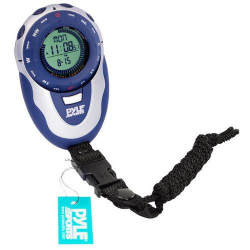 Handheld Track Watch W/ Digital Compass, 42 Laps Chronograph Memory, Pacer