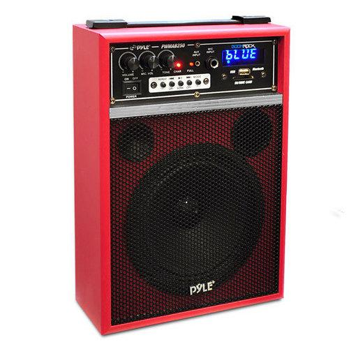 300 Watt Bluetooth 6.5'' Portable PA Speaker System