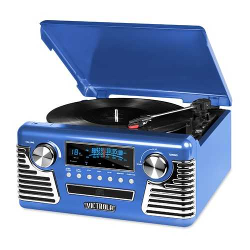 Bluetooth Stereo Turntable with CD
