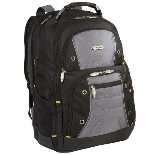 16in Drifter II Backpack Black Gray