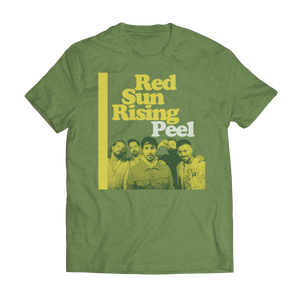 Green Peel Band Photo Tee