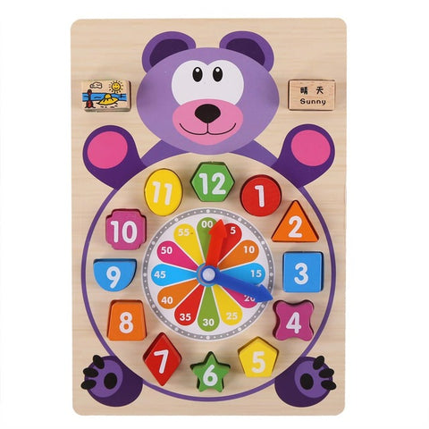 Cutie Clock Building Blocks