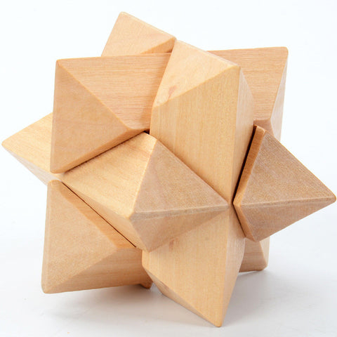 Unique Wooden Cube Puzzles