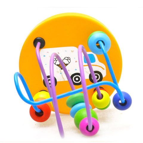 Educational Wooden Around Beads Toy