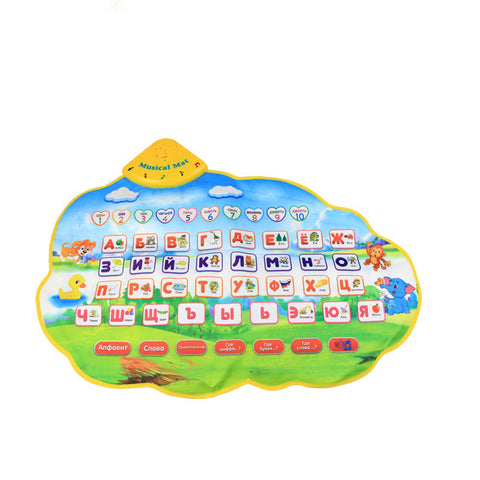 Learning Musical Alphabet Baby Play Animal Mat