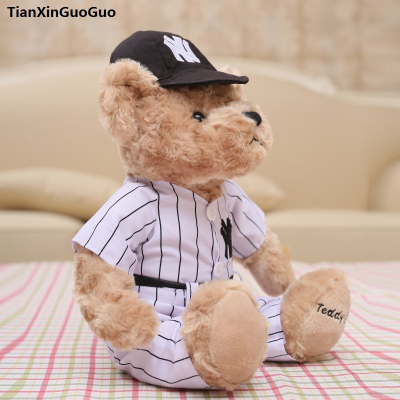 NY Baseball Teddy Bear