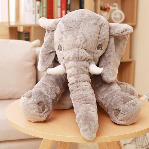 Giant Stuffed Elephant Pillow