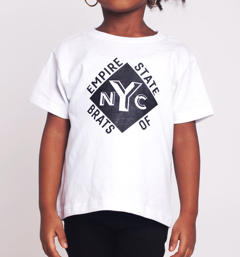 Empire State of Brats Tee (White)