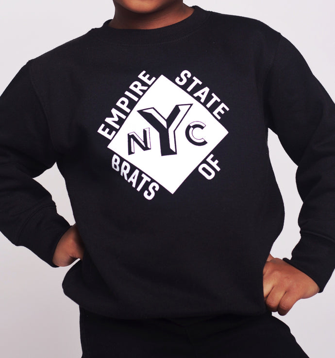 Empire State of Brats Sweater (Black)