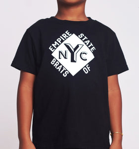 Empire State of Brats Tee (Black)