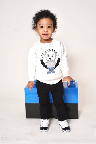 Baby Polar Bear Sweater (White)