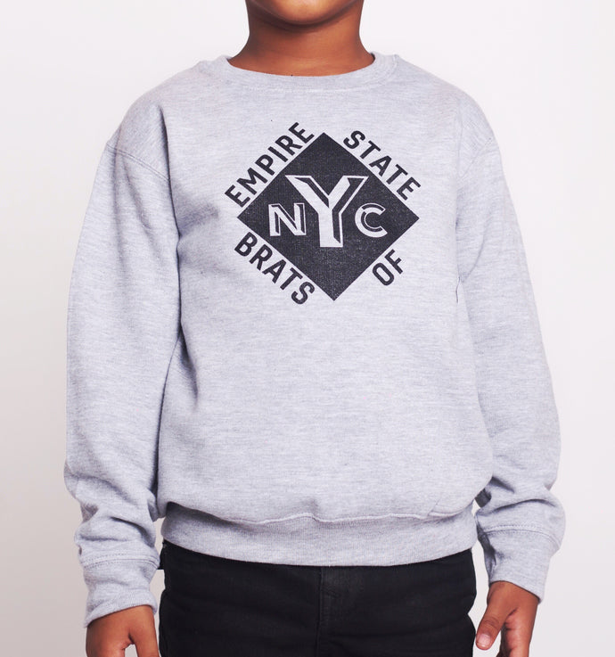 Empire State of Brats Sweater (Heather)