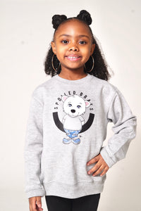 Baby Polar Bear Sweater (Grey)