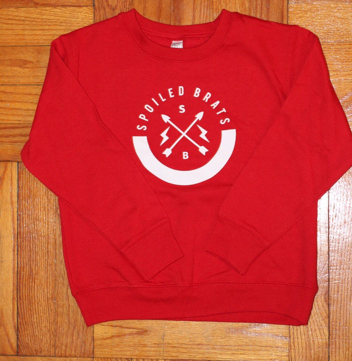 Spoiled Brats Logo Sweater (Red)