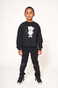 Baby Polar Bear Sweater (Black)
