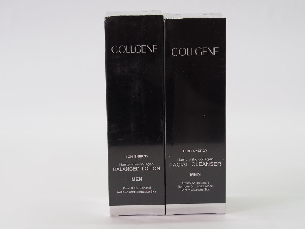 Skin Care Series for Men - Face Cleanser and Balancing Lotion