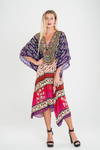 EMBELLISHED KAFTAN SHORT