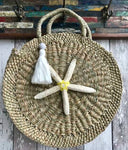 Mandala Bag With Shell and Tassel
