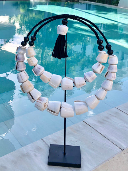 The Cowrie Shell Necklace