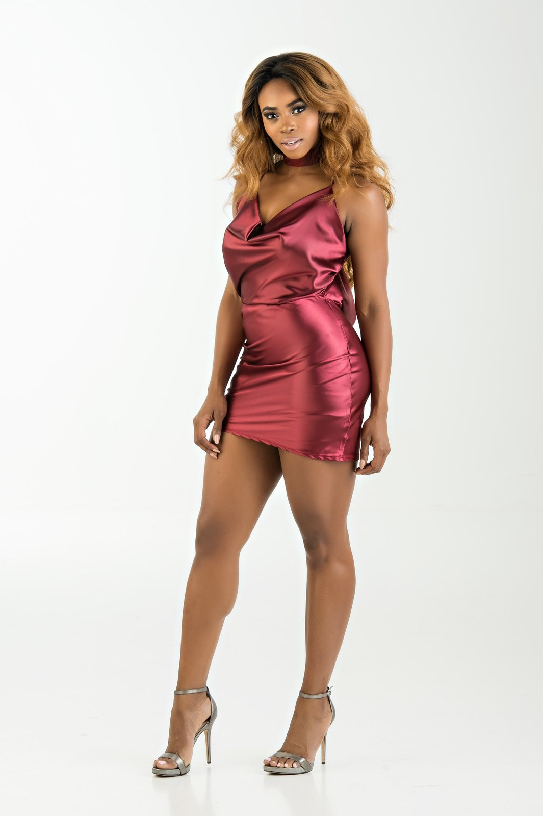 Tracy Satin Dress