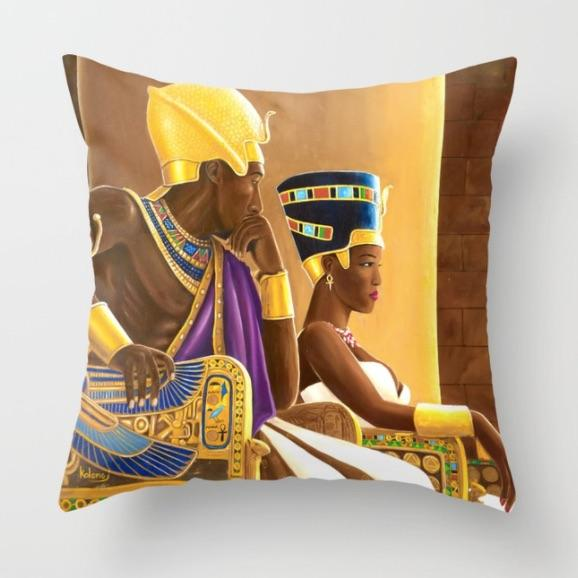 Remember The Times  Pillow| Kolongi Brathwaite Art